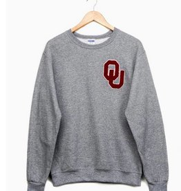 LivyLu OU chenille sweatshirt