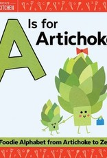 a is for artichoke children's book