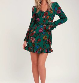 petal down dress