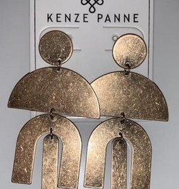 mali geometric earrings