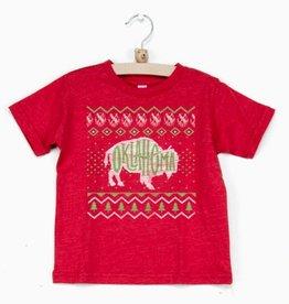 LivyLu kids oklahoma sweater tee