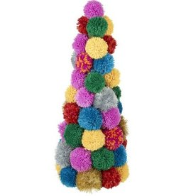 two's company pom pom christmas tree large