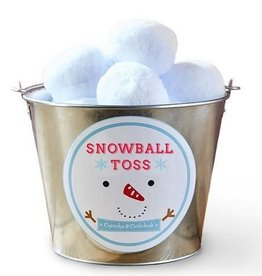 two's company snowball toss set