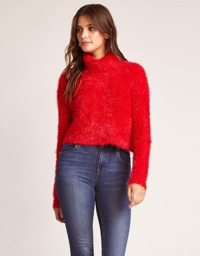 bat your lashes turtleneck sweater