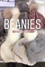 two's company chenille pom hat