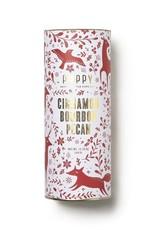 cinnamon bourbon pecan holiday tin