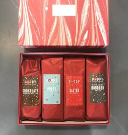 poppy popcorn large holiday sampler case FINAL SALE