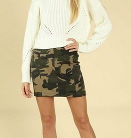 wild honey camo skirt