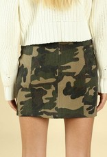 wild honey camo skirt