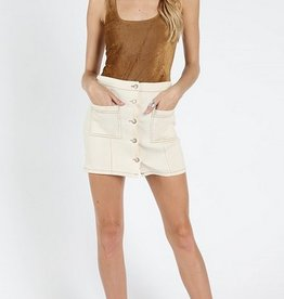 wild honey suede bodysuit