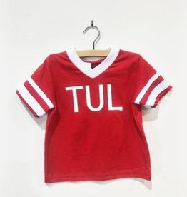 R+R youth TUL jersey stripe tee