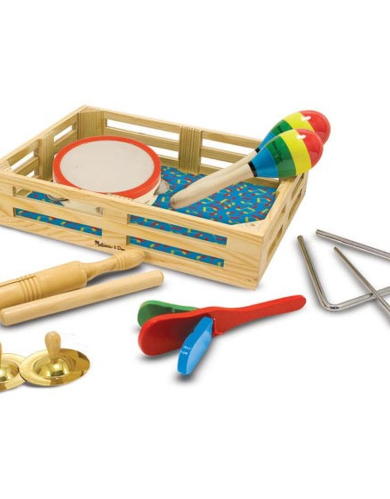 melissa and doug band-in-a-box clap! clap! tap!