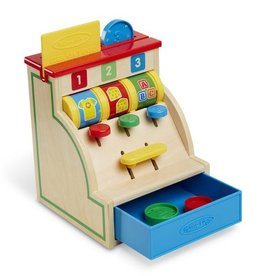 melissa and doug sort & swipe cash register