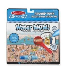 melissa and doug water wow around town deluxe water reveal pad