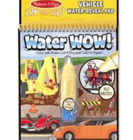 melissa and doug water wow - vehicles
