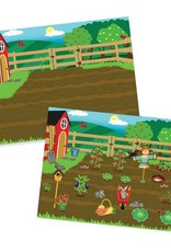 melissa and doug reusable sticker pad - farm