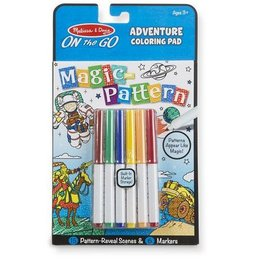 melissa and doug on the go magic pattern pad - adventure