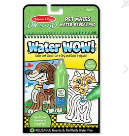 melissa and doug water wow! pet mazes