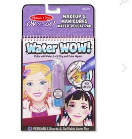 melissa and doug water wow! makeup & manicures