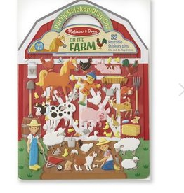 melissa and doug puffy sticker - farm