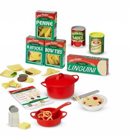 melissa and doug prepare and serve pasta