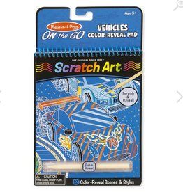 melissa and doug vehicles color - reveal pad