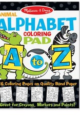 melissa and doug animal alphabet coloring pad A to Z