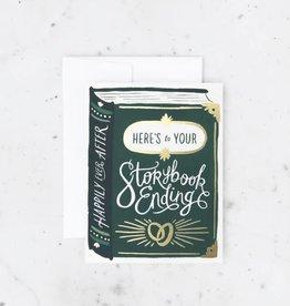 storybook ending card