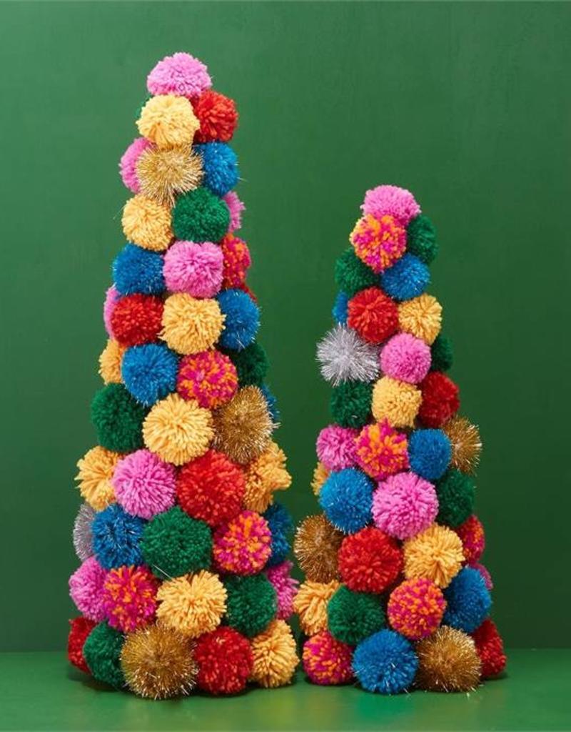 two's company pom pom christmas tree large FINAL SALE