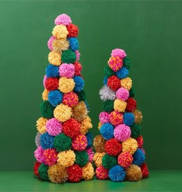 two's company pom pom christmas tree small FINAL SALE