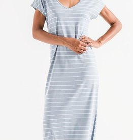 z supply the stripe midi drop dress