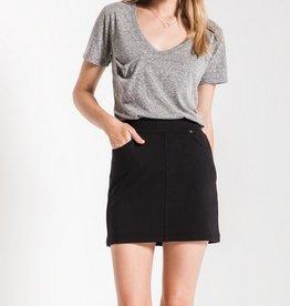z supply the knit mini skirt