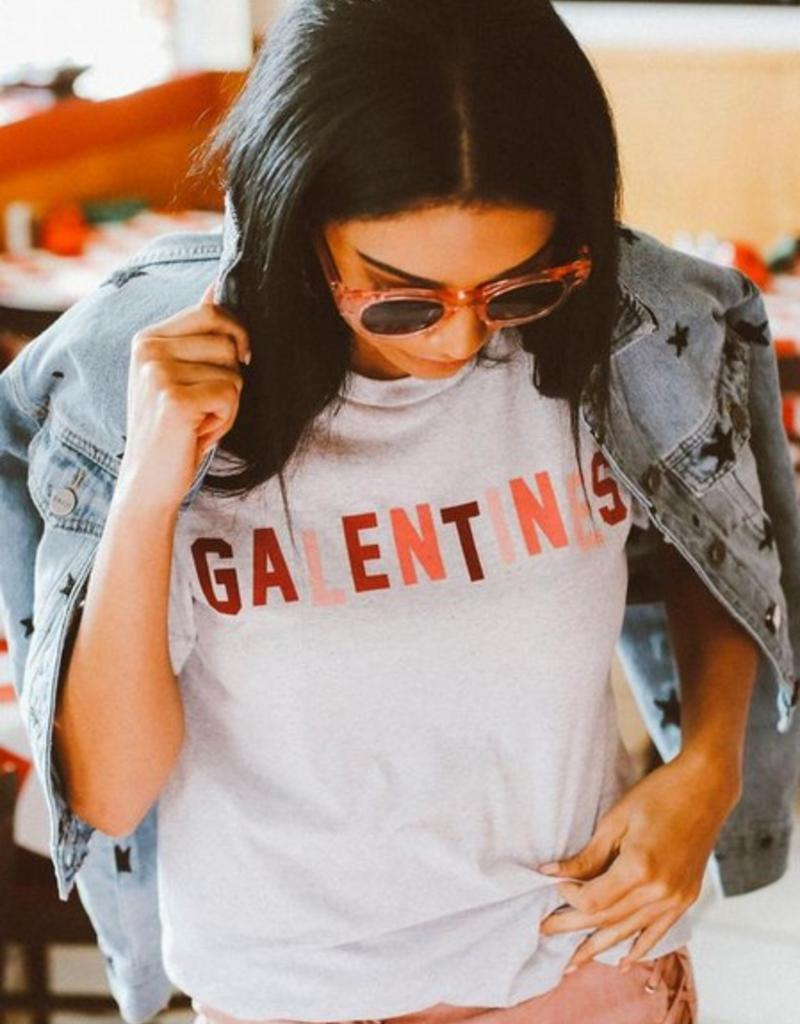 friday + saturday galentines tee FINAL SALE