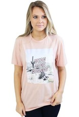 wide open spaces tee