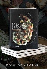 Author Signed trial & error cookbook