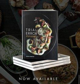 justin thompson author signed trial & error cookbook