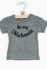 LivyLu be my oklahomie kids triblend tee
