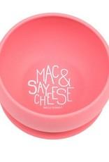 Bella Tunno say mac & cheese suction bowl