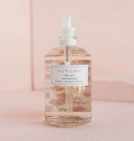 lollia relax hand soap