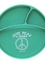 Bella Tunno give peas a chance wonder plate