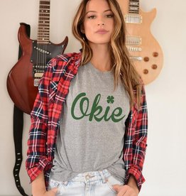 Opolis okie clover tee FINAL SALE