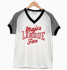 LivyLu major league fan farrah tee