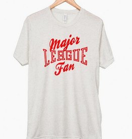 LivyLu major league fan triblend tee