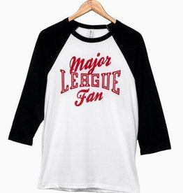 LivyLu major league fan baseball tee