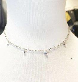 sun, moon, stars station necklace