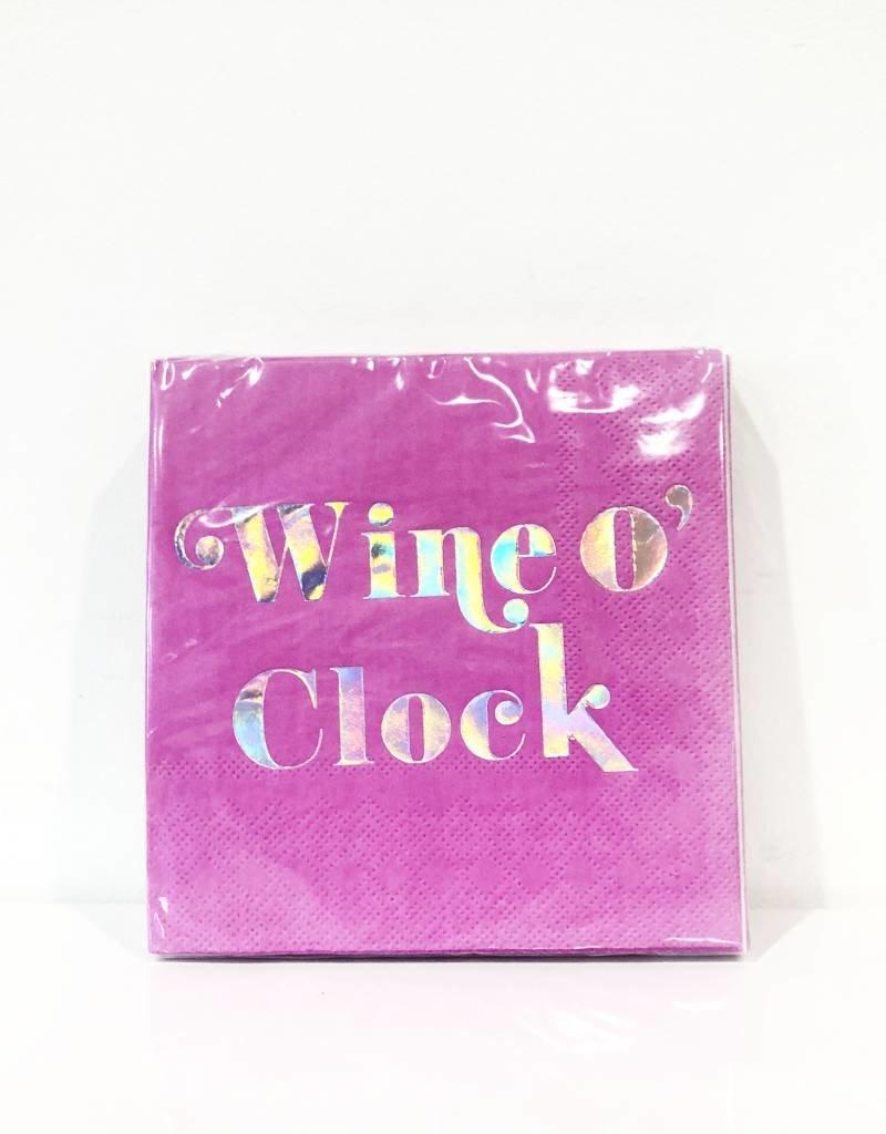 wine o clock bev nap (20ct)