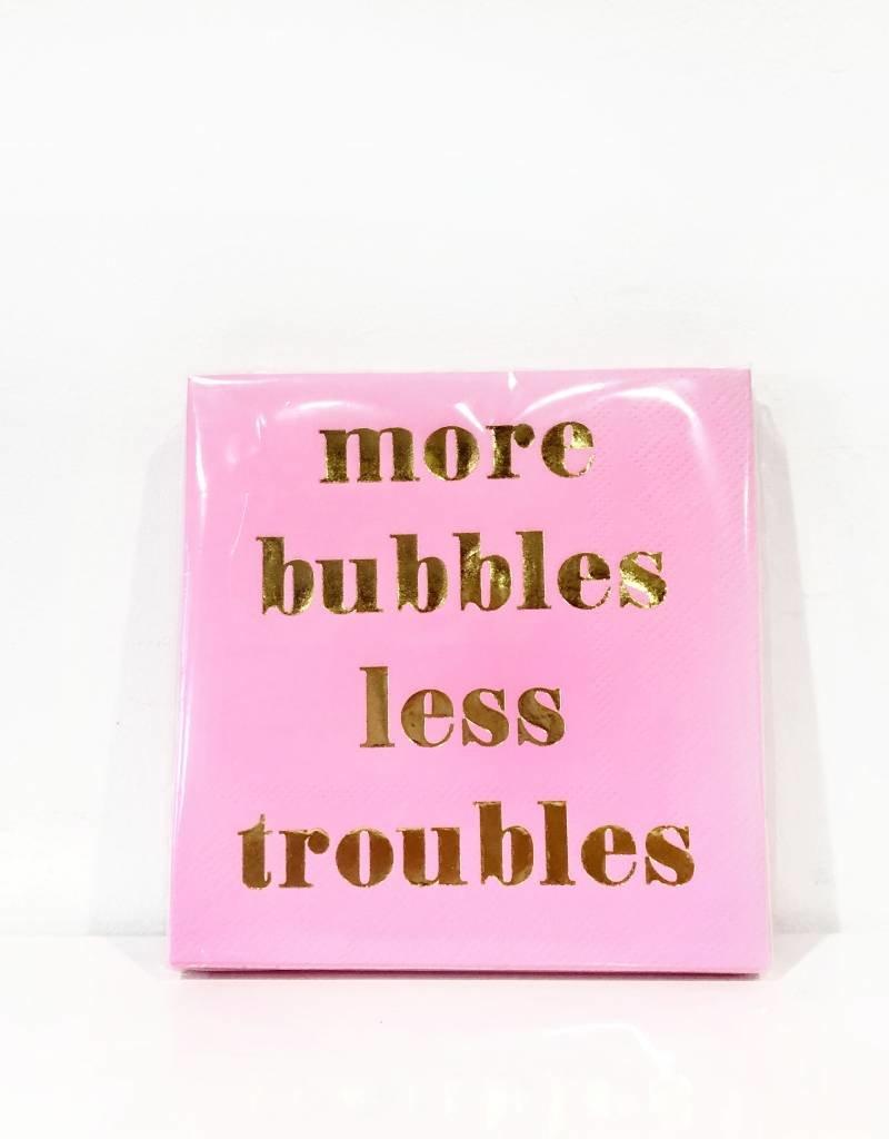 more bubbles less troubles bev nap (20ct)