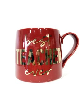 slant best teacher ever jumbo 20oz mug