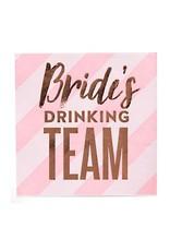 slant brides drinking team bev nap (20ct)