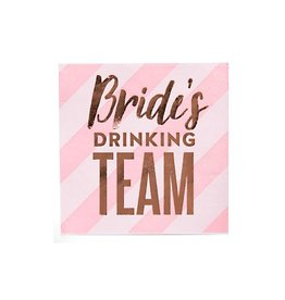 brides drinking team bev nap (20ct)